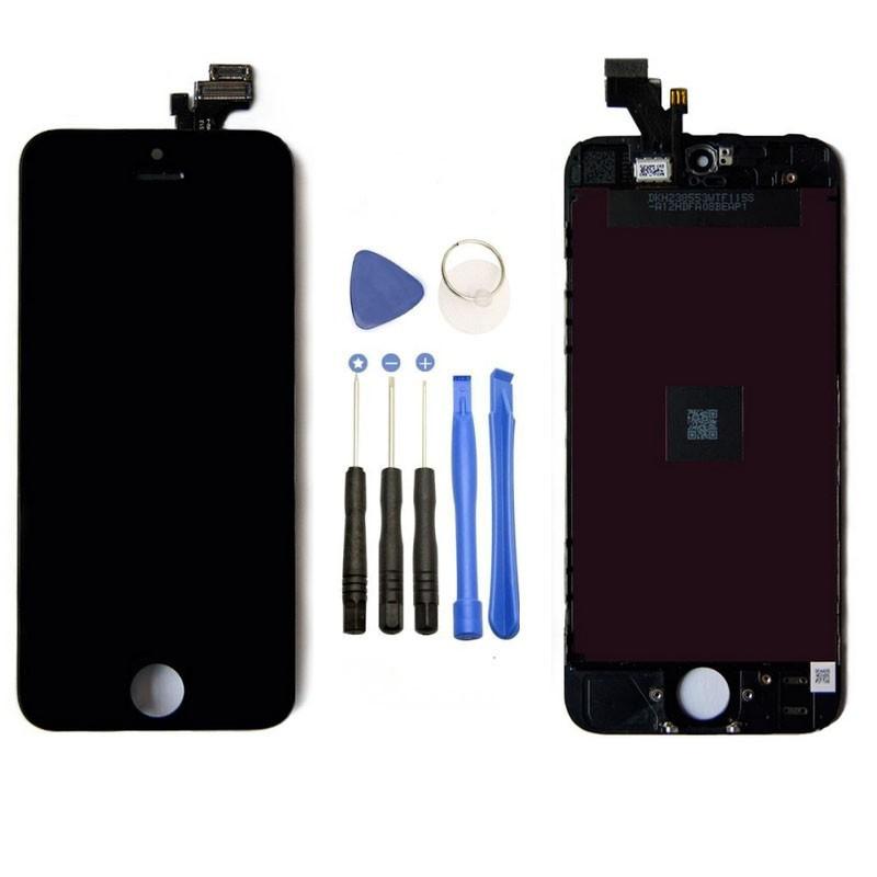 Original LCD Display Touchscreen schwarz für Apple iPhone SE