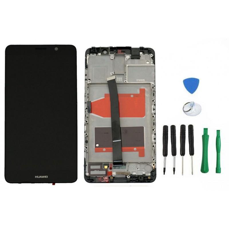 Huawei Mate 9 Komplettes LCD Display Rahmen Touchscreen Schwarz + mit Rahmen