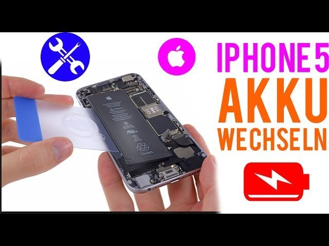 iPhone 5 Akku - Reparaturanleitung