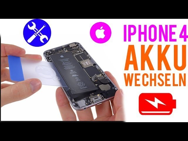 iPhone 4 Akku - Reparaturanleitung